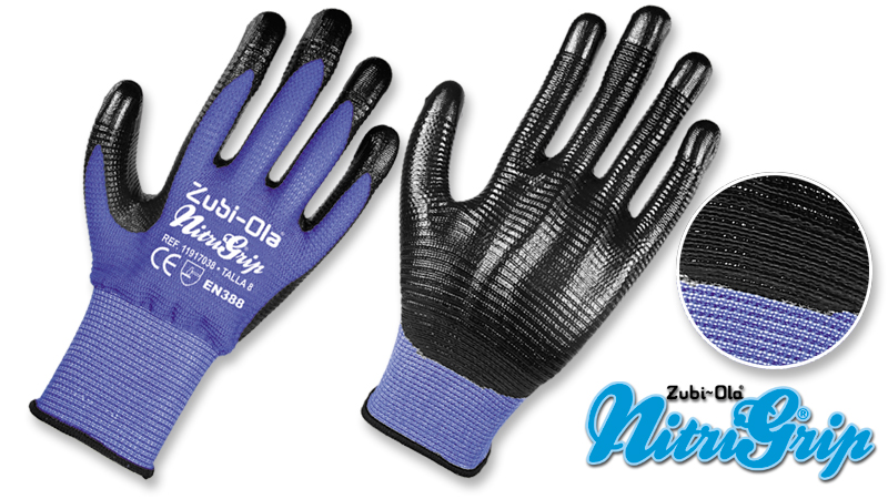 Guantes Nylon texturado 50c11bf50672